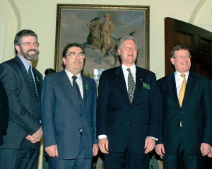 Adams, Hume, Clinton, Trimble: a right rogues' gallery
