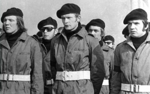 Martin McGuinness, charismatic young IRA leader, 1972